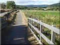 NO6195 : Cycle path downhill towards Potarch by Stanley Howe