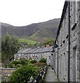 SH3746 : Quarry workers' cottages, Trefor by Gordon Hatton
