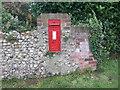 TF7319 : Victorian postbox on Lynn Road, Gayton by JThomas