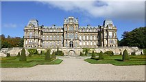NZ0516 : Bowes Museum by Russel Wills