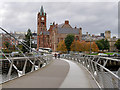 C4316 : Derry Guildhall viewed from the Peace Bridge by David Dixon