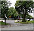 SD5805 : Wilton Street Car Park entrance, Wigan by Jaggery