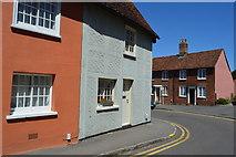 TL5338 : Corner house, Gold St by N Chadwick