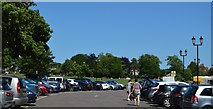 TL5438 : Car park on The Common by N Chadwick