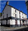 SS9893 : Derelict former Bush Inn, Clydach Vale by Jaggery