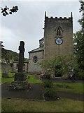 SK2375 : Stoney Middleton church (St Martin) by David Smith