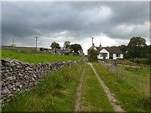 SK2276 : Farm track east of Eyam by David Smith