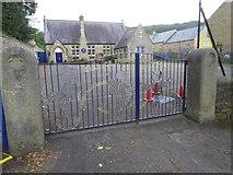 SK2176 : Eyam primary school by David Smith