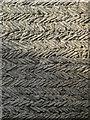 SK8381 : Marton: Saxon herringbone masonry by John Sutton
