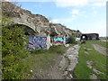 TQ6974 : Inside Shornmead Fort by Marathon
