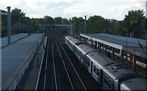 TM1543 : Ipswich station, looking west from the footbridge by Christopher Hilton