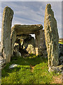 SH2580 : Trefignath Burial Chamber by Mike Searle