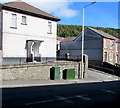 SS9793 : Telecoms cabinets on a Clydach Vale corner by Jaggery