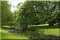 TL5238 : Audley End: gardens and River Cam, near the Tea Bridge by Christopher Hilton