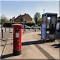 SJ8195 : GR Postbox (M16 534) by Gerald England