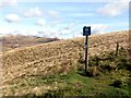 SK0684 : Peak and Northern Footpaths Society sign #233 by Graham Hogg