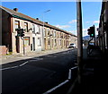 SS9892 : Court Street pelican crossing, Tonypandy by Jaggery