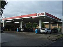 SJ9223 : Service station on Lammascote Road, Stafford by JThomas