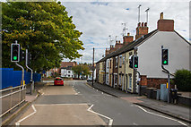 SK3516 : Burton Road, Ashby De La Zouch by Oliver Mills