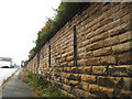 SE3220 : Retaining wall with iron ties by Stephen Craven