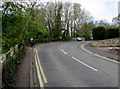 SO6303 : Sharp bend in Springfield Road, Lydney by Jaggery