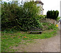 SO6303 : Wooden bench alongside Springfield Road, Lydney by Jaggery