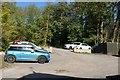 TF0245 : Car park by Bob Harvey