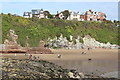 ST1266 : Beach at Jackson's Bay, Barry Island by M J Roscoe