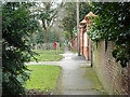 TQ2293 : Path, Totteridge Common by Robin Webster