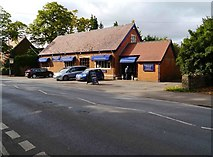 SU2199 : Jubilee Hall Antiques (formerly Victoria Memorial Hall), Oak Street, Lechlade on Thames, Glos by P L Chadwick