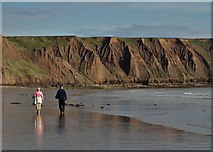 TA1281 : On Filey Sands by Neil Theasby