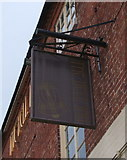 SK2125 : Sign for the Bell Inn, Anslow by JThomas