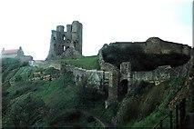 TA0489 : Scarborough Castle by norman griffin