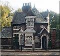 TQ2686 : Former gatehouse, Branch Hill, Hampstead by Julian Osley
