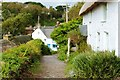 SW7214 : Cottages at Cadgwith Cove, The Lizard Peninsula,Cornwall by Derek Voller