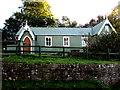 SO3416 : Grade II listed Llanddewi Skirrid Village Hall by Jaggery