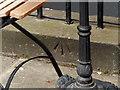 NT2473 : Bench mark, 125 George Street, Edinburgh by Alan Murray-Rust