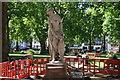 TQ2880 : Statue, Berkeley Square Gardens by N Chadwick