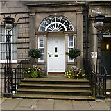 NT2574 : Doorway to 48 Queen Street, Edinburgh by Alan Murray-Rust