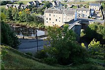 NZ0416 : Tees Bridge from the castle by Bob Harvey