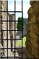 NZ0416 : Barnard Castle: the wall of the inner ward by Bob Harvey