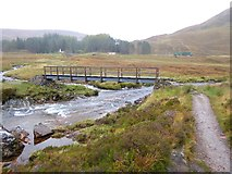 NN2256 : Bridge over the River Coupall by Oliver Dixon
