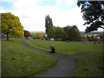 SO9394 : Park south of Woodcross Lane, Woodcross by Richard Vince