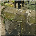 NT2675 : Pivot bench mark, 27 Pilrig Street, Edinburgh by Alan Murray-Rust