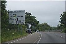 TQ0102 : A259, eastbound by N Chadwick