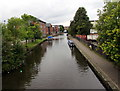 SD5804 : West along the Leeds & Liverpool Canal, Wigan by Jaggery