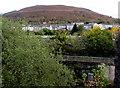 ST0092 : Hillside view from Bridge Street, Tonypandy by Jaggery