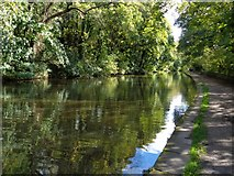 SE1039 : Leeds and Liverpool Canal at Bingley by Ashley Dace