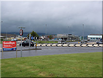 NS3174 : Comet Roundabout, Port Glasgow by Thomas Nugent