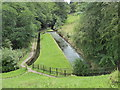 SJ9558 : Canal feeder channel from Rudyard Lake by Chris Allen